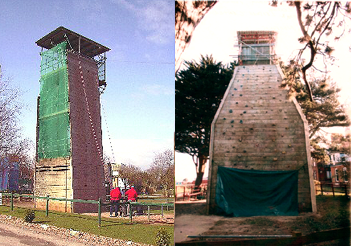 Climbing and Abseil Towers