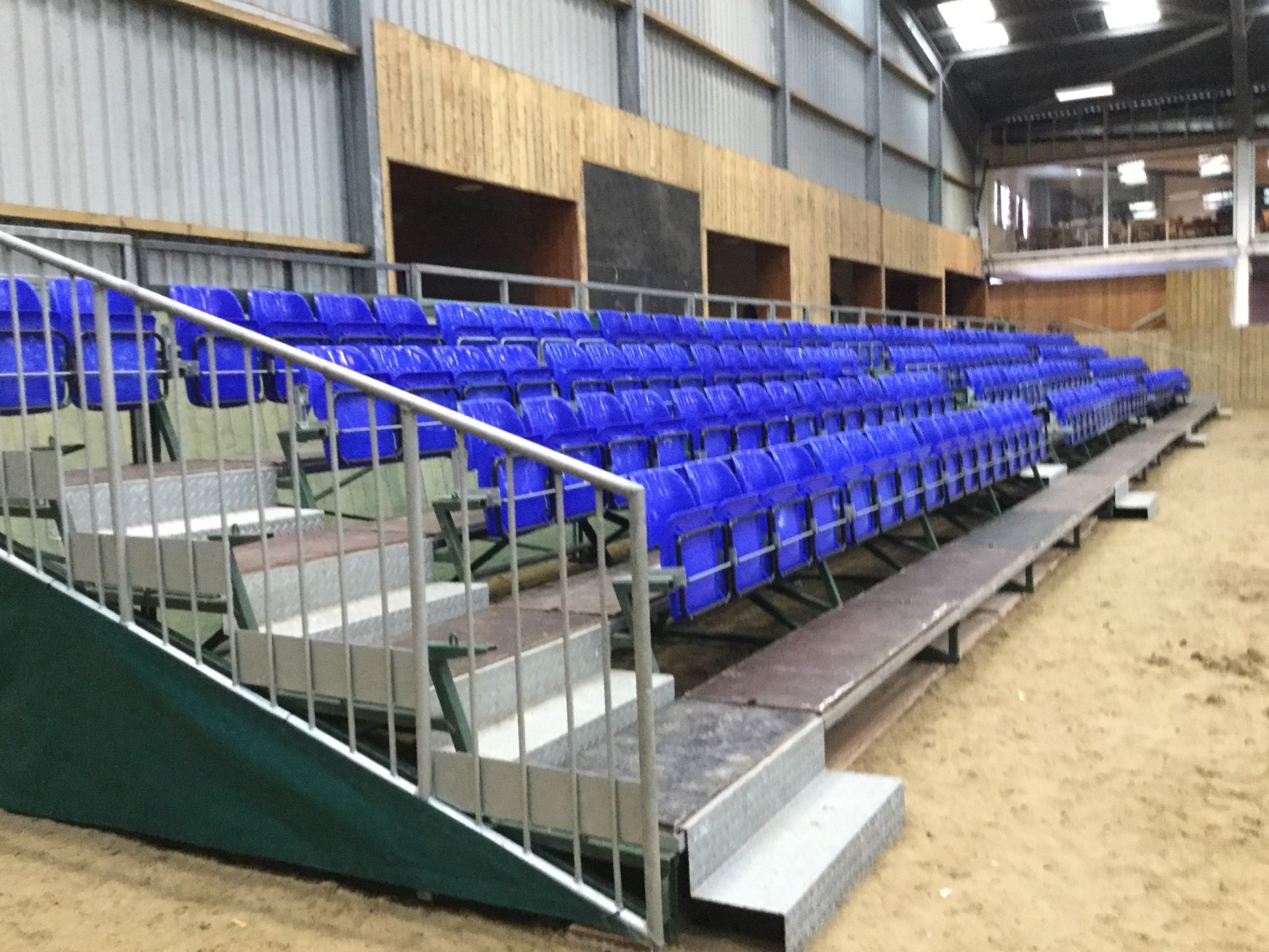 Barriers, Seating, Event Equipment and Services UK and Ireland